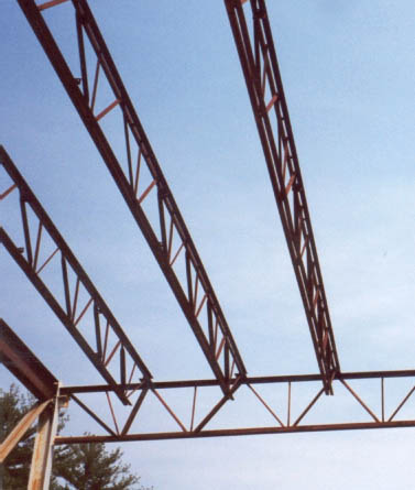 Open web joist for Open web floor trusses