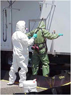 photo of decontamination