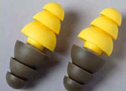 photo of ear plugs
