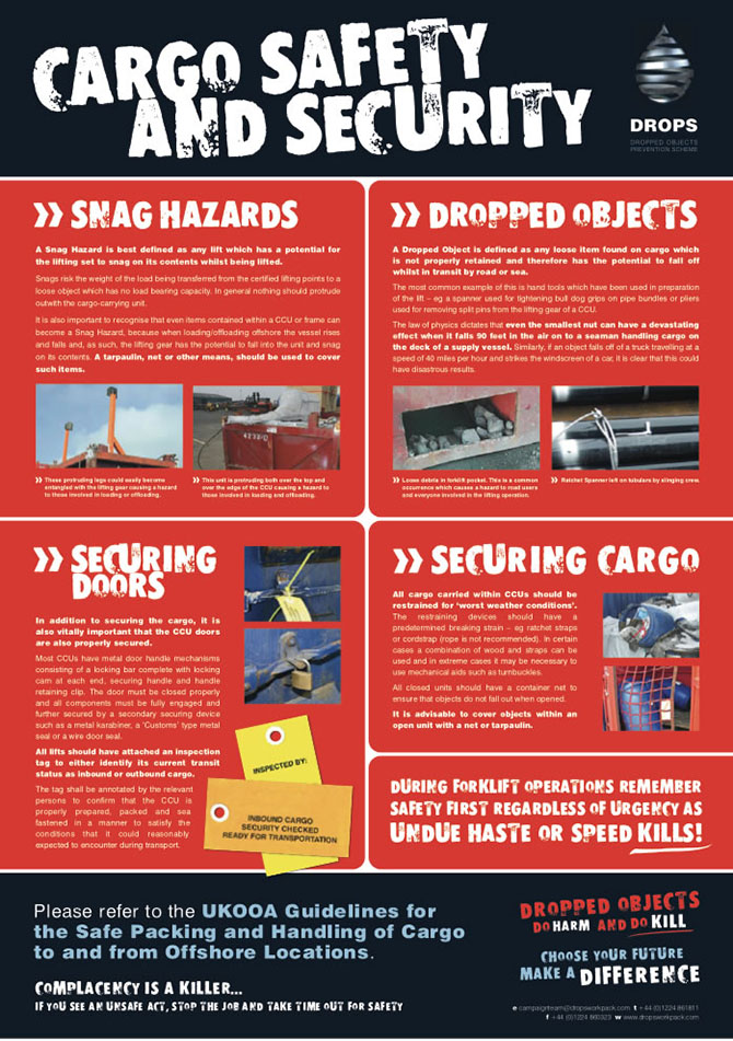 Cargo Safety and Security Poster