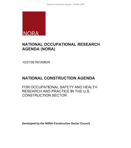 Cover of a NORA PDF