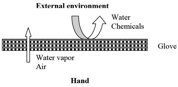 illustration of the breathing membrane principle