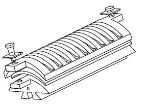 illustration of locking device