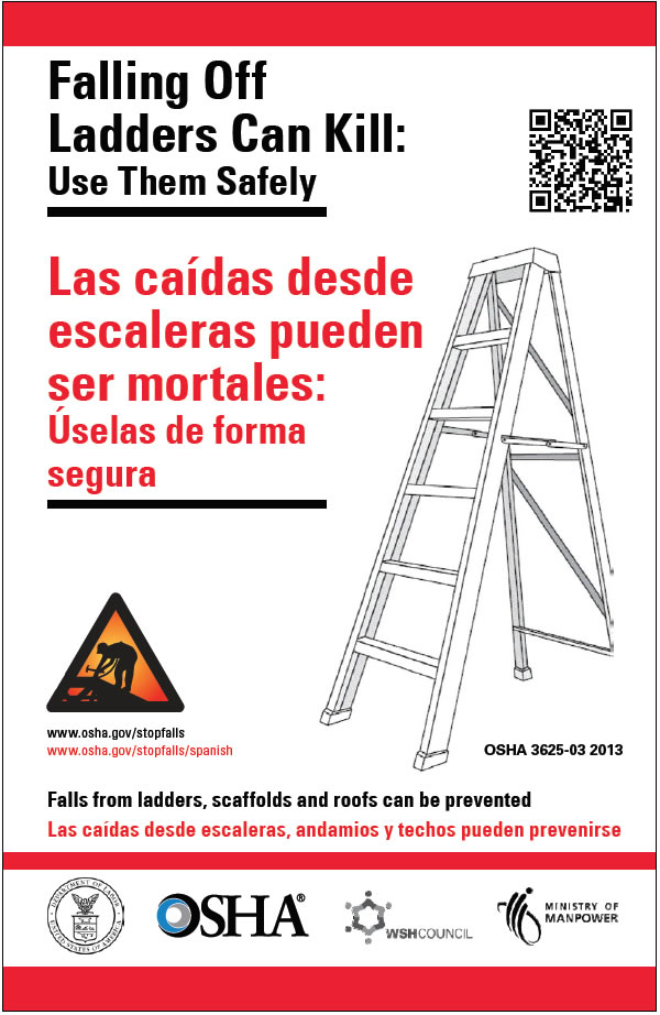 Falling Off Ladders poster
