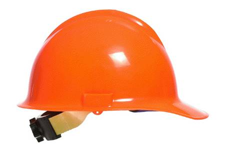 lateral and top impact hard hat