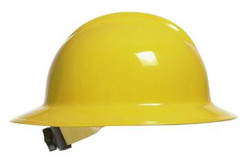 full brimmed hard hat for rain protection