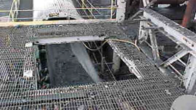 Photograph of a grate opening
