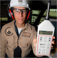 Industrial Hygenist with a Silica monitor