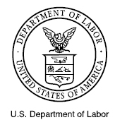 This is the logo for the department of labor