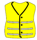 example of a PPE high visibility jacket