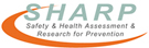 SHARP: safety and health assessment and research for prevention logo