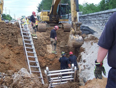 eLCOSH : Kentucky FACE Report: Construction Laborer Killed in Trench