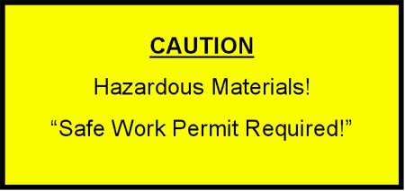 Caution: Hazardous Materials!