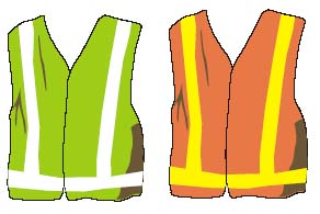Illustration of vests