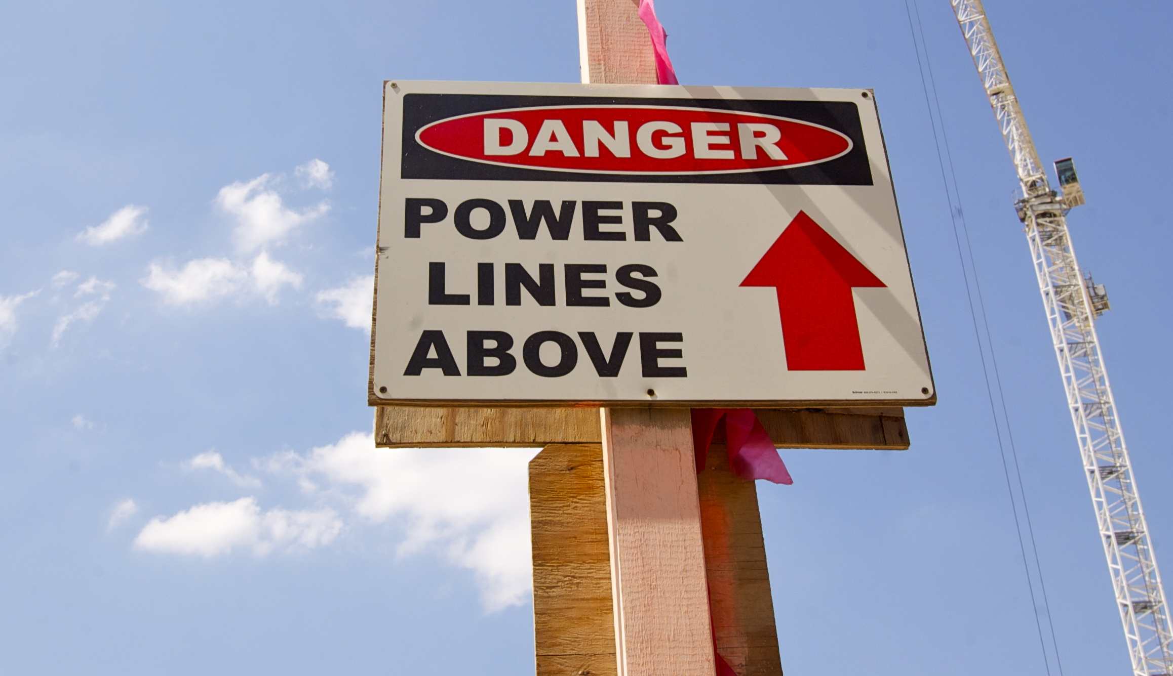 Danger! Power Lines Above